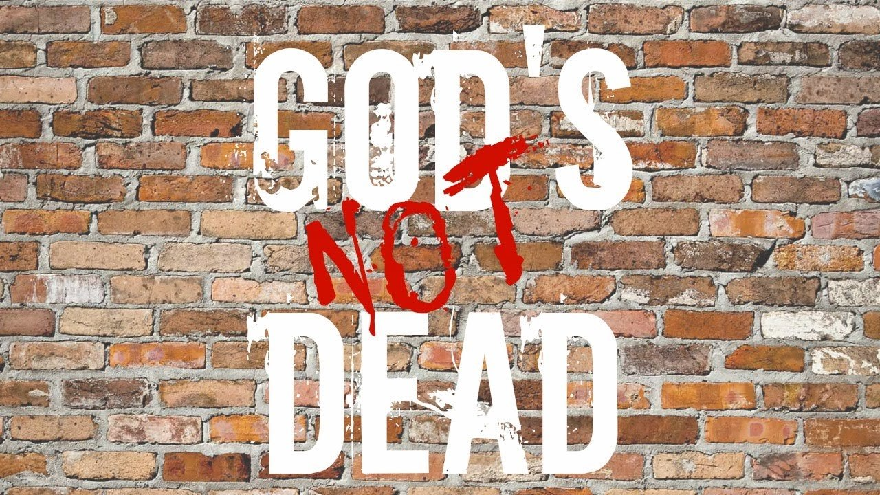god is not dead God's not dead 2 tells the story of grace, a high school teacher who is put on trial with the potential to lose everything, all because she dared to mention the name of jesus within the walls of a classroom while answering a student's question.