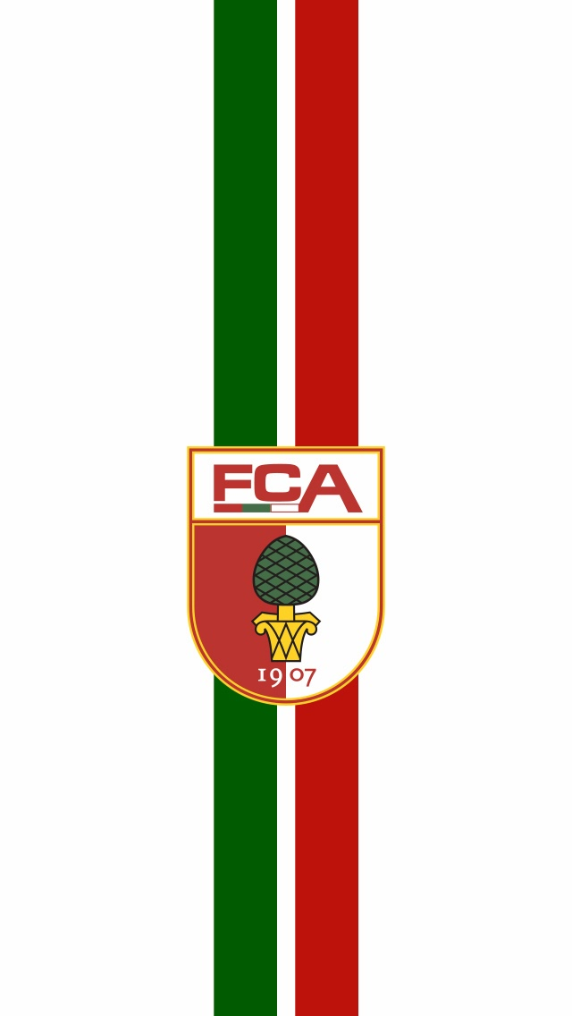 Kickin Wallpapers FC AUGSBURG WALLPAPER 640x1136