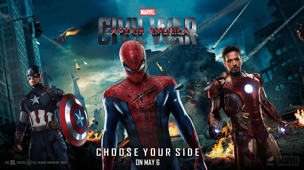 Captain America Civil War Wallpaper - WallpaperSafari  Captain America...