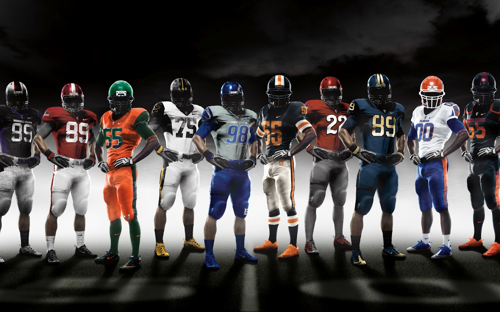 American Football Teams Full HD Desktop Wallpapers 1080p 1600x1000