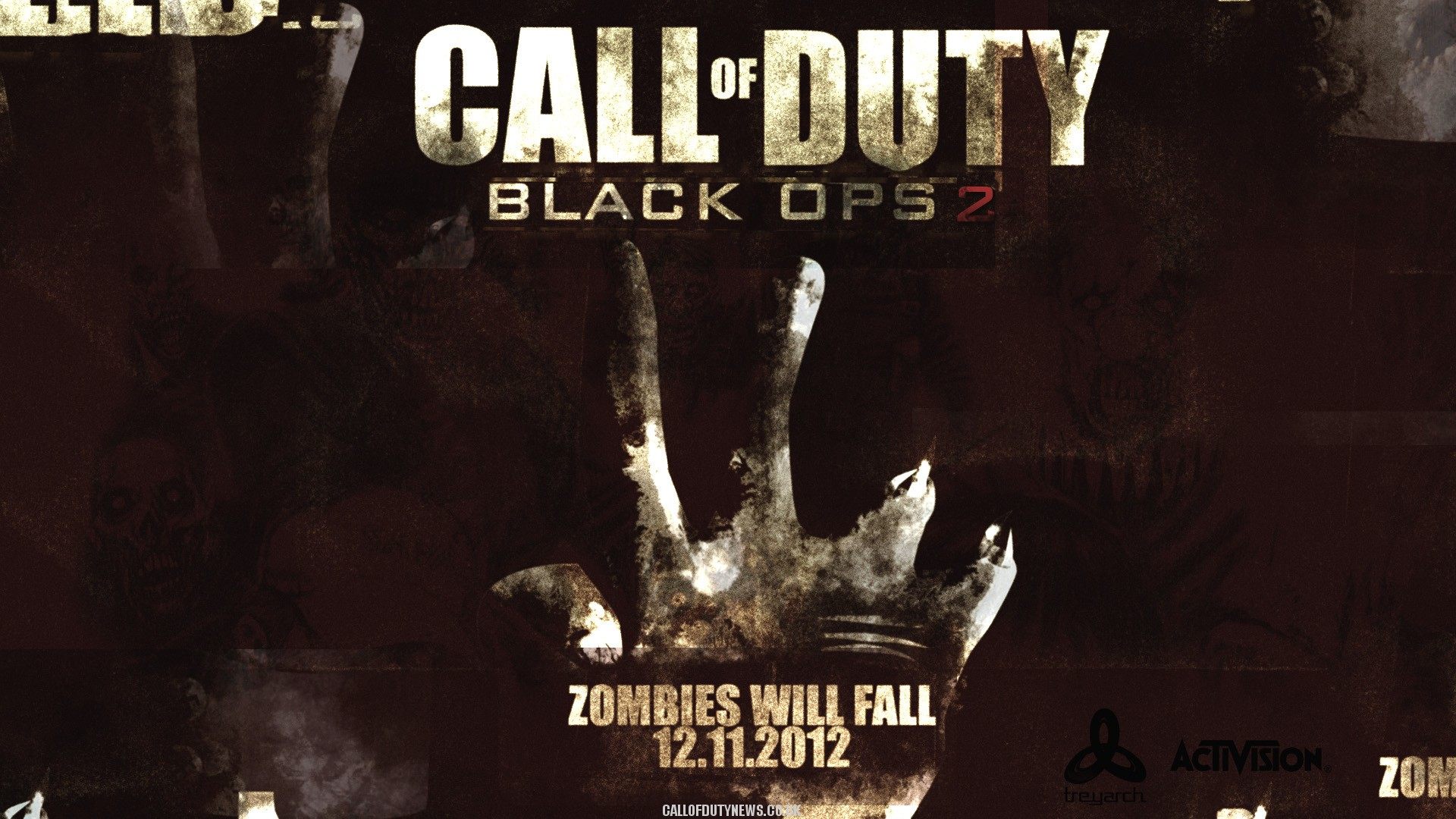 black ops 2 zombies wallpaperWallpapers Call of Duty News Blog 1920x1080