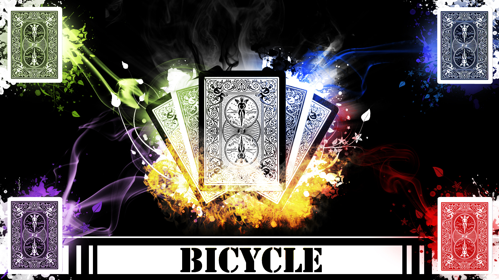 Bicycle Cards Wallpaper - WallpaperSafari