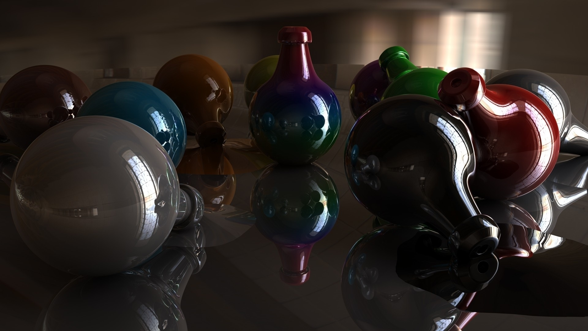 BALLS COLOR SHADOW 0348 1920x1080 pixel Hd Wallpaper 1920x1080