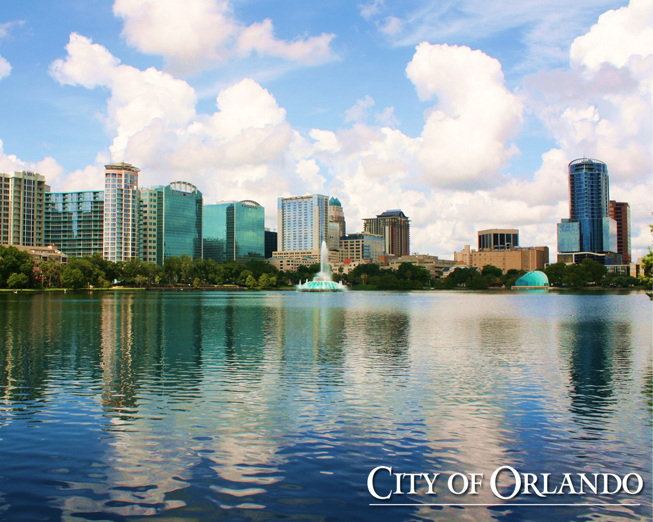 City of Orlando HD Wallpaper HD Wallpapers HD Backgrounds 1280x1024