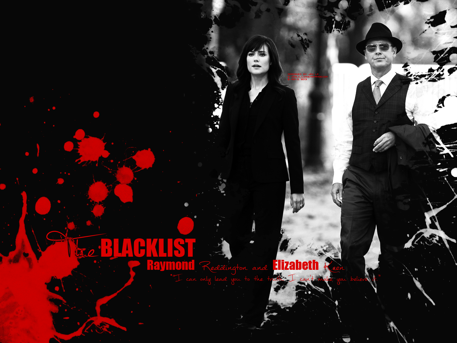 Red and Liz   The Blacklist Wallpaper 36004897 1600x1200