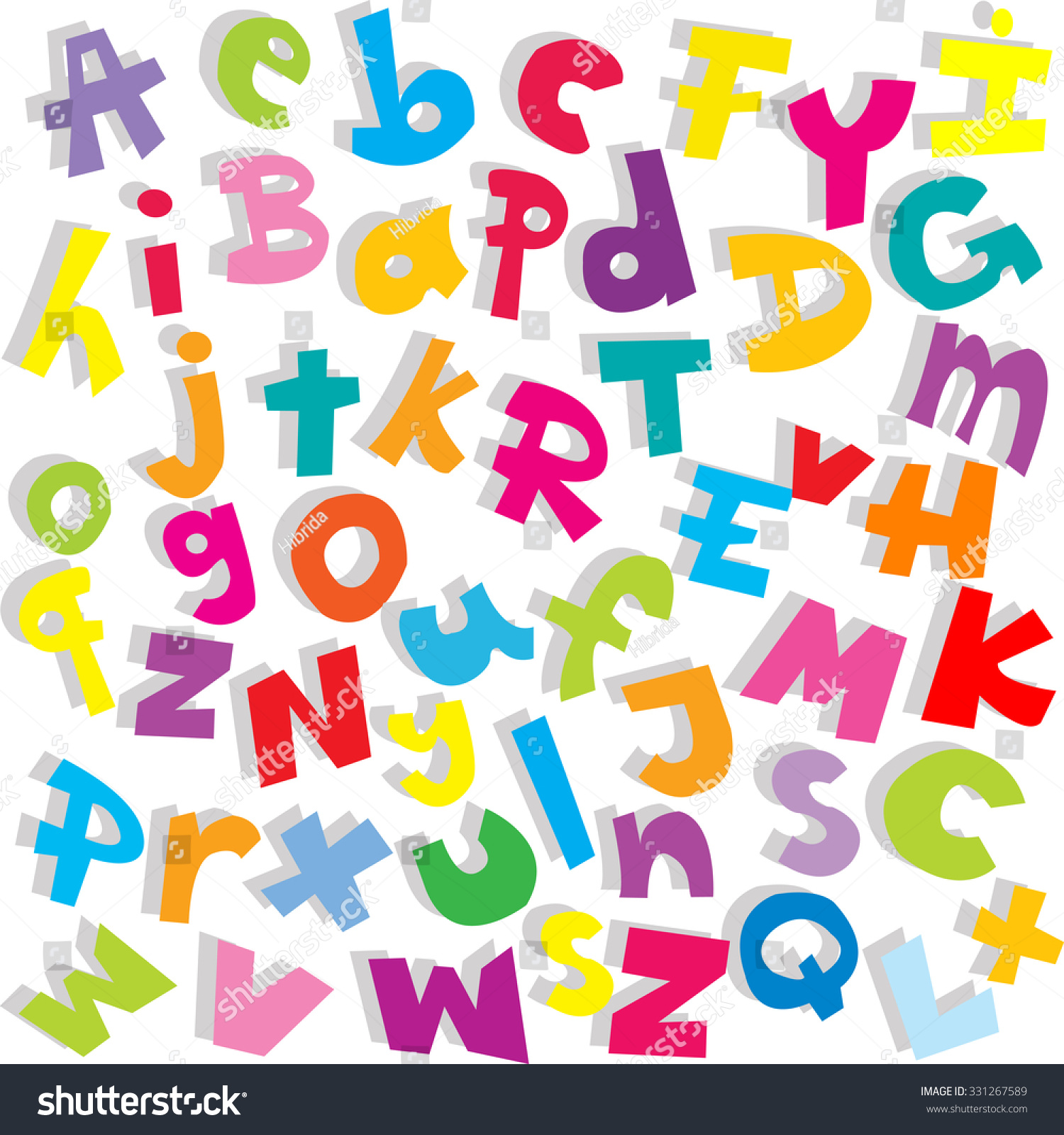Alphabet Background Small And Capital Letters Stock Photo 1500x1600