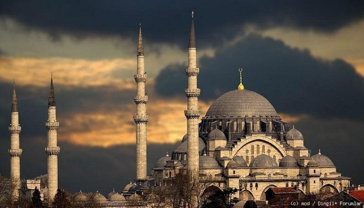 Wallpapers Trips Asia Turkey Blue Mosque By Elturco 750x429