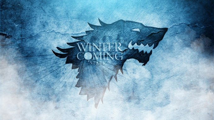 Stark logo wild wolf   winter is coming   Image Download   High 688x387