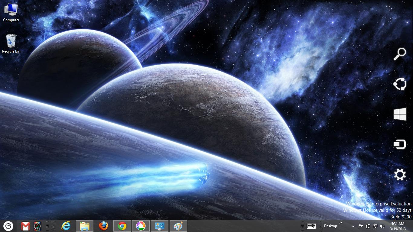 Space Wallpaper Windows 8