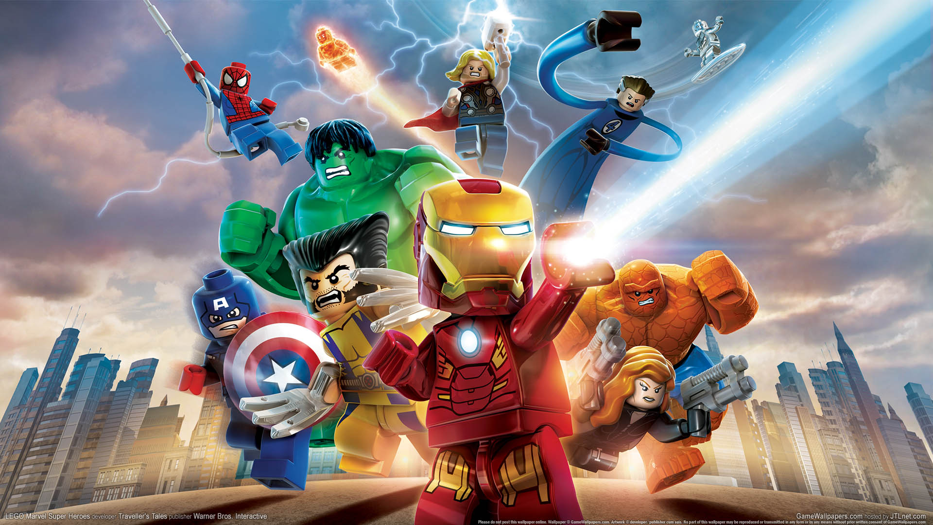 LEGO Marvel Super Heroes HD Wallpapers and Background Images 1920x1080