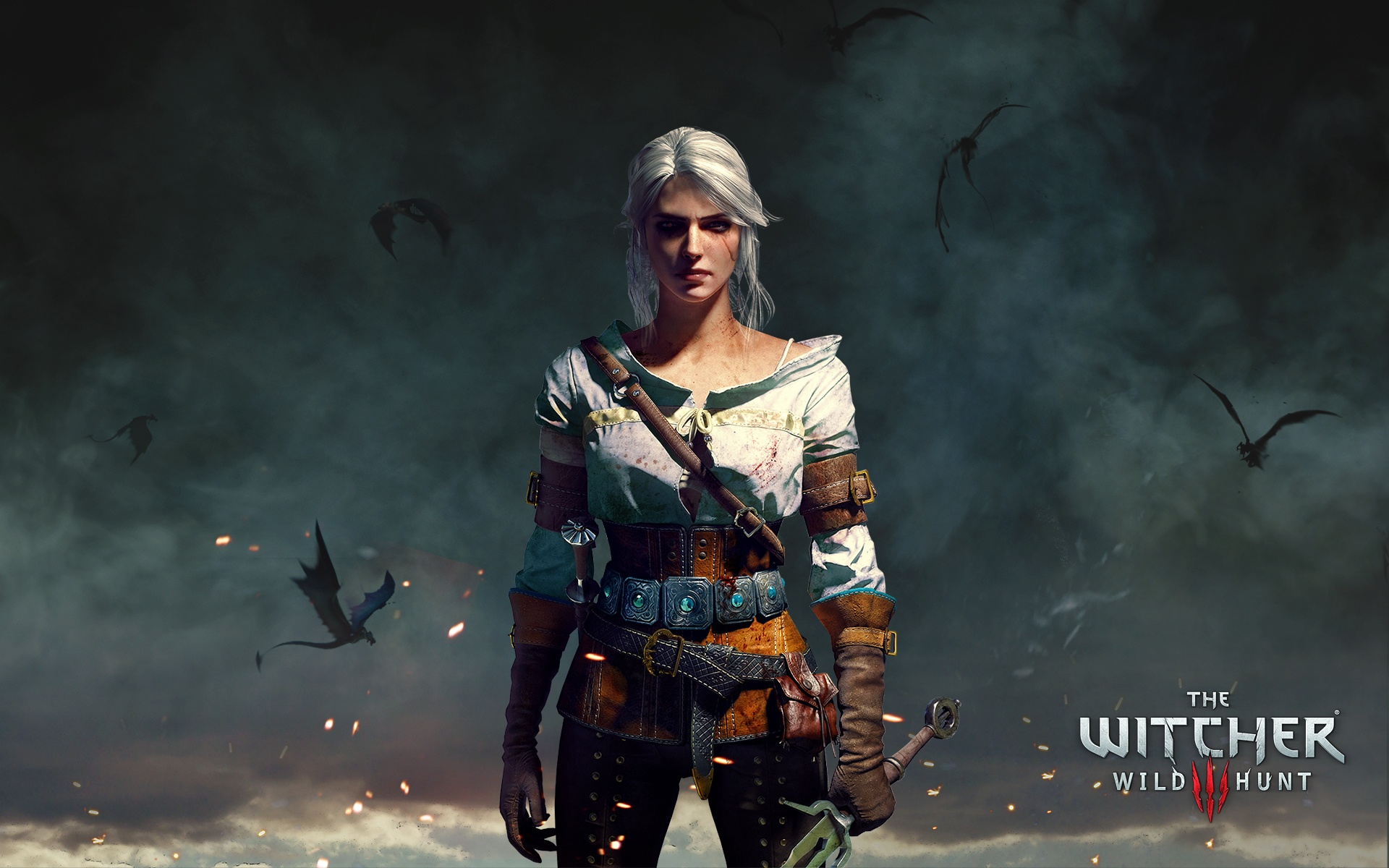 Ciri The Witcher 3 Wild Hunt Wallpapers in jpg format for 1920x1200