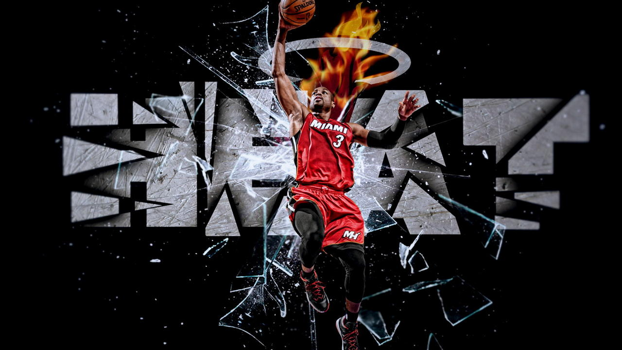 Dwyane Wade Wallpaper   Outstanding for Fast Speed Fearless Man Shall 1280x720