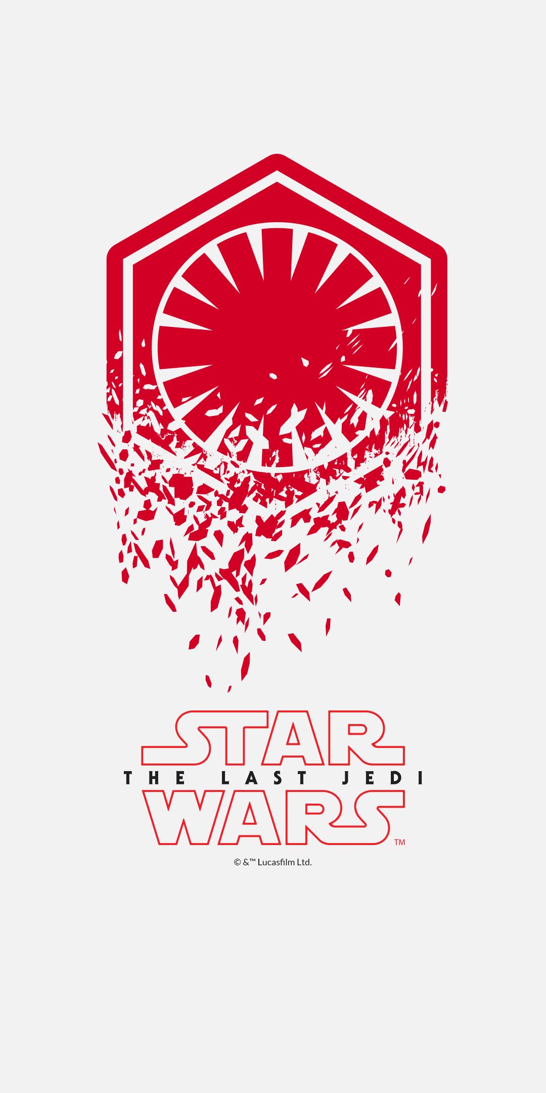 OnePlus 5T Star Wars The Last Jedi wallpapers download 1080x2160
