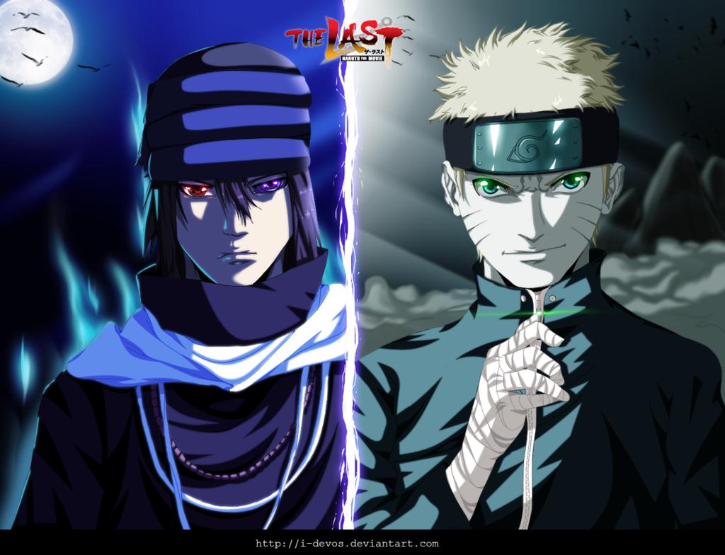Naruto and Sasuke   The Last Movie by I DEVOS 1024x784