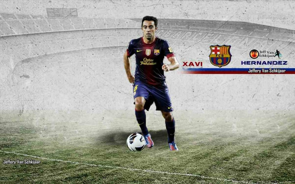 Football Xavi Hernandez hd Wallpapers 2013 1024x640
