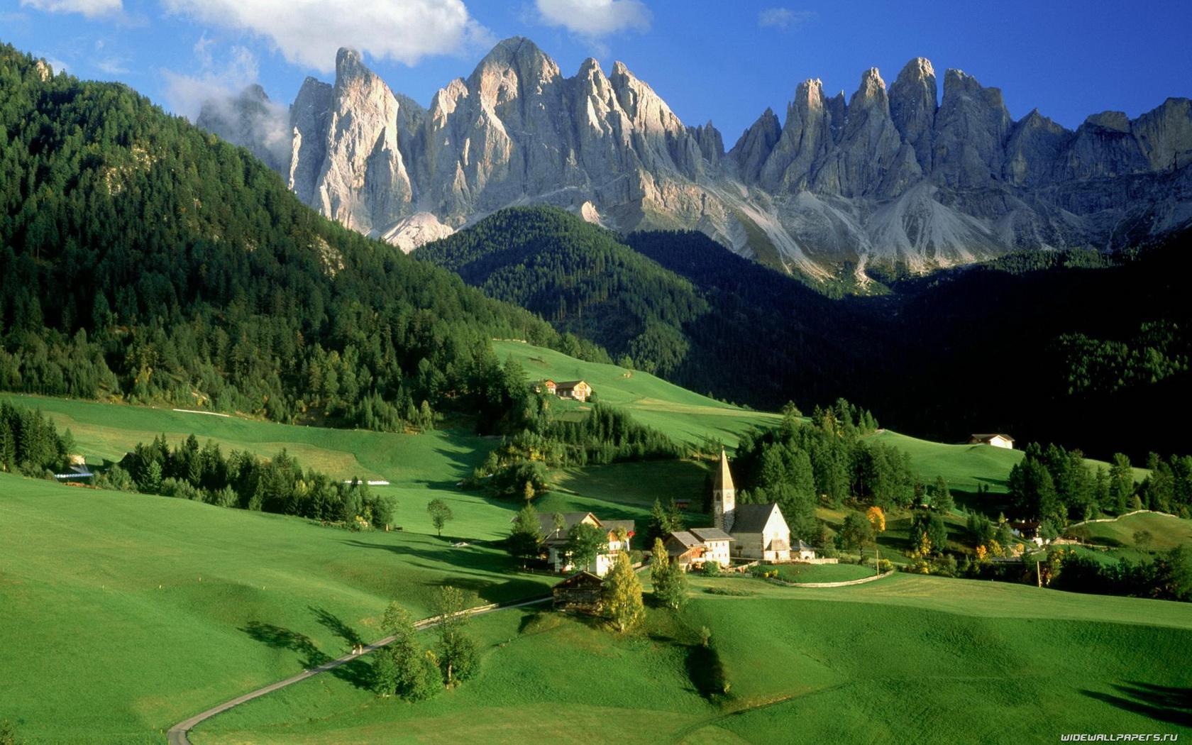 mountain nature hd wallpapers top beautiful desktop nature images 1680x1050