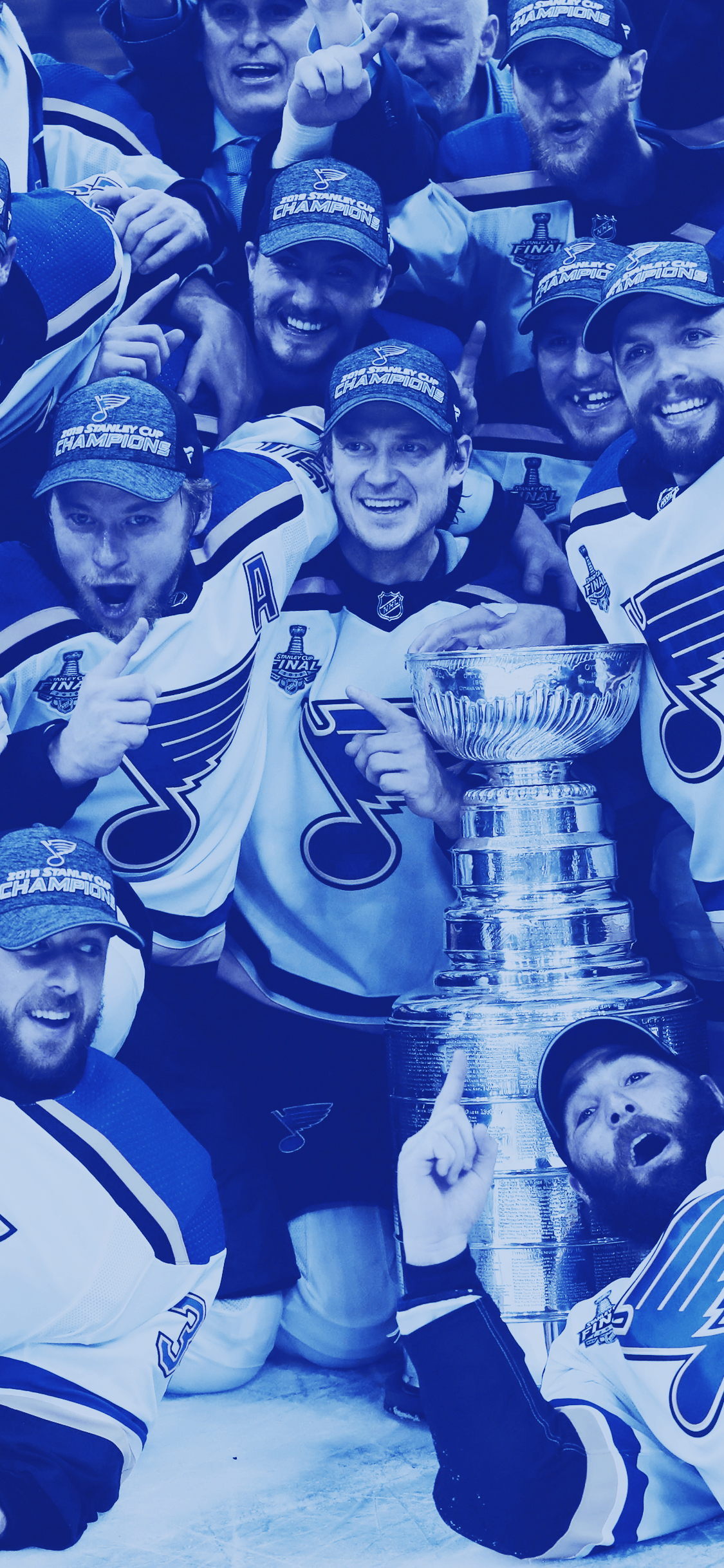 Free Download St Louis Blues Wallpapers And Lockscreens 1125x2436