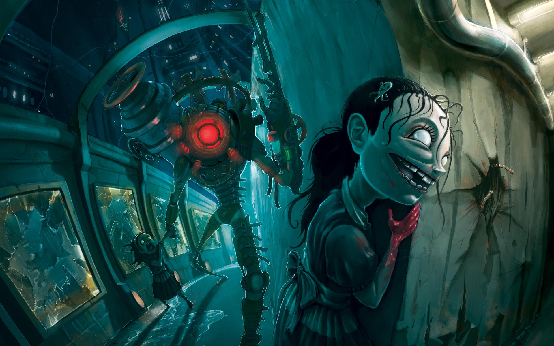Wallpaper 1 Wallpaper from BioShock 2 gamepressurecom 1920x1200