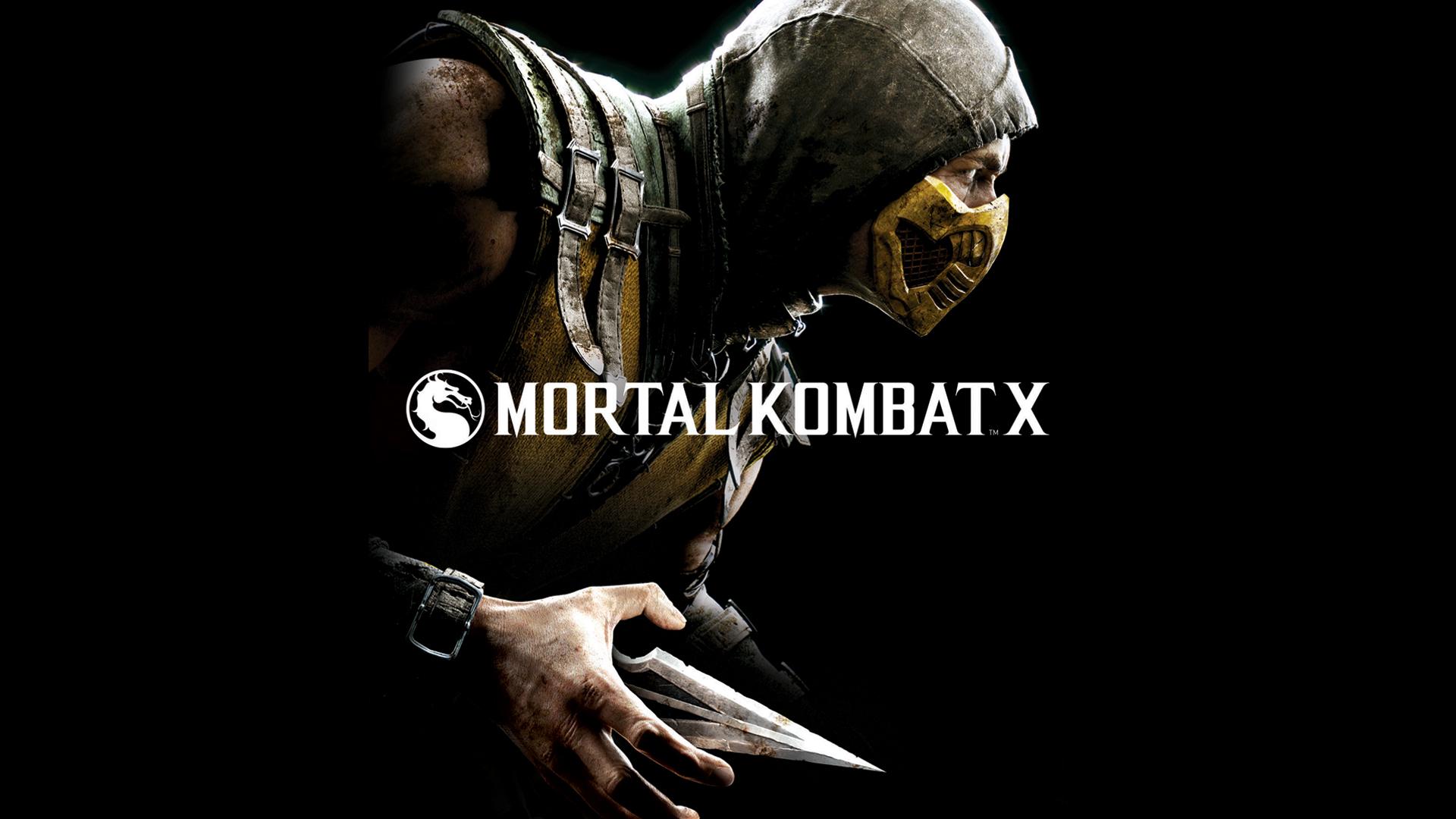 scorpion mortal kombat x combat game fighting hd 1920x1080 1080p 1920x1080
