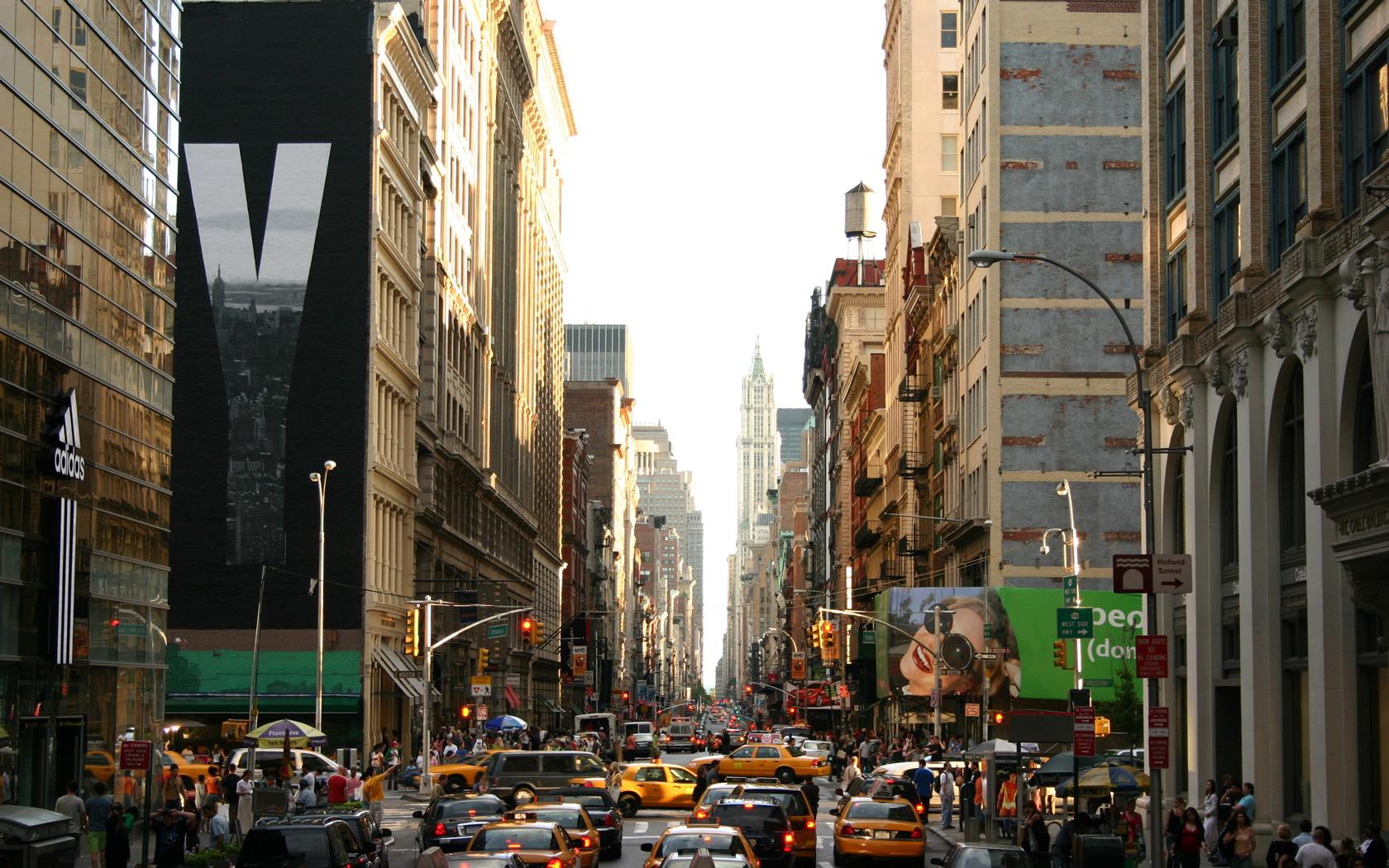 New York City Street Wallpapers 1680x1050 pixel Travel HD Wallpaper 1680x1050