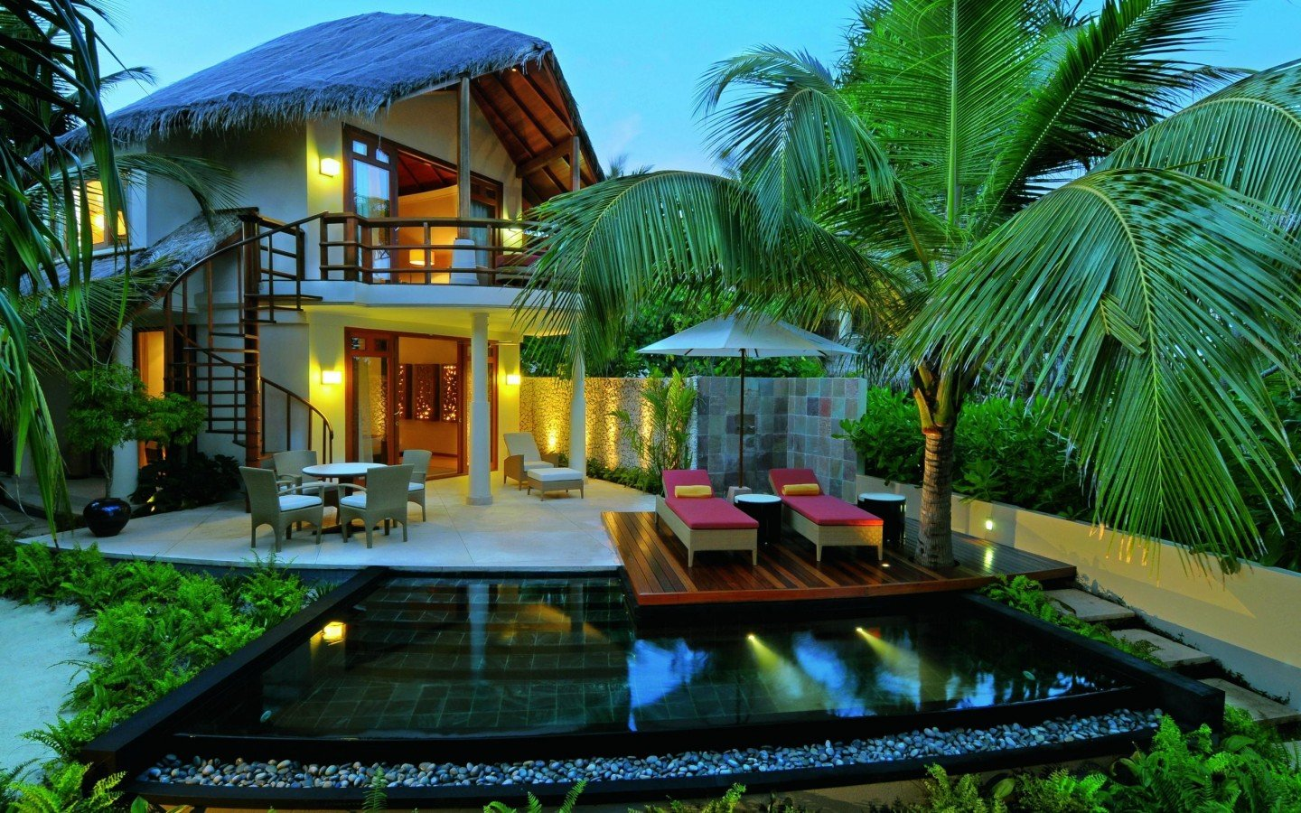 Beautiful villa desktop wallpaper wallpapersafari for Beautiful villas images