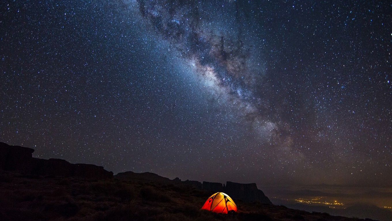 1360x768 Sky Galaxy Camp Laptop HD HD 4k Wallpapers Images 1360x768