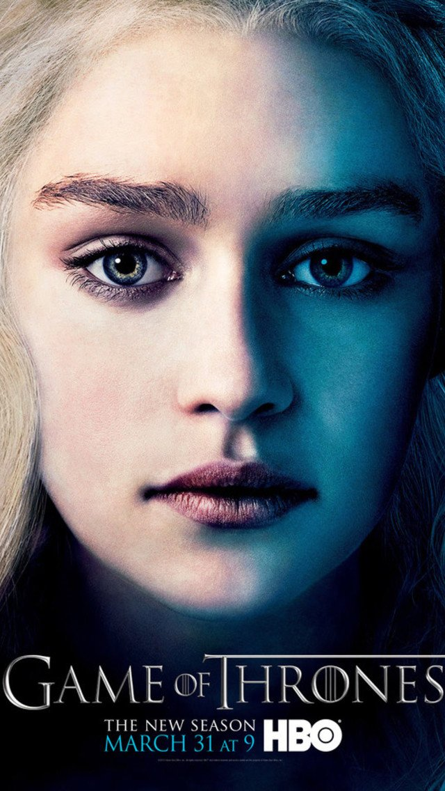 Game of Thrones   Daenerys Wallpaper for iPhone 5 640x1136