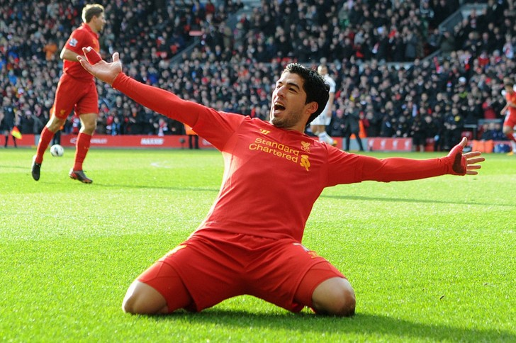 Luis Suarez Liverpool HD Wallpaper Football Wallpapers 728x484