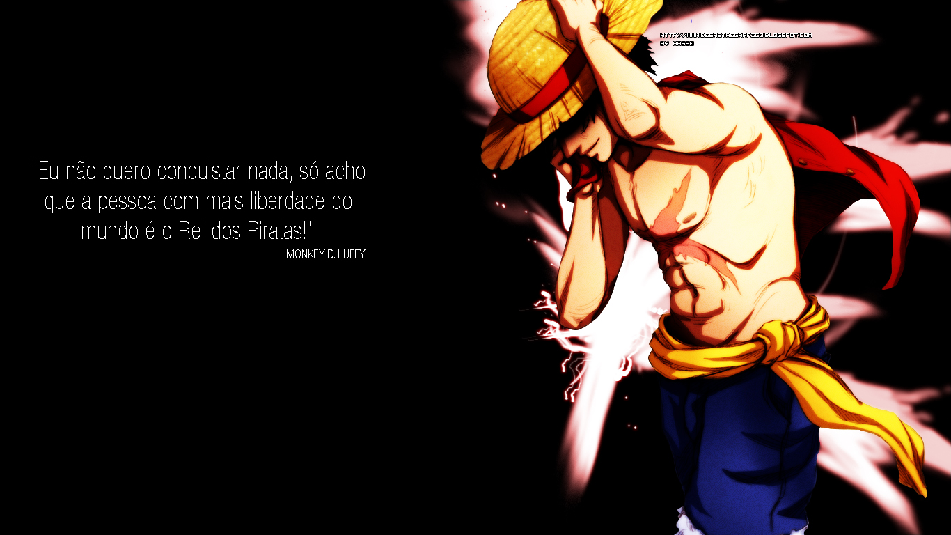 Free Download One Piece Luffy Wallpaper 1366x768 For Your