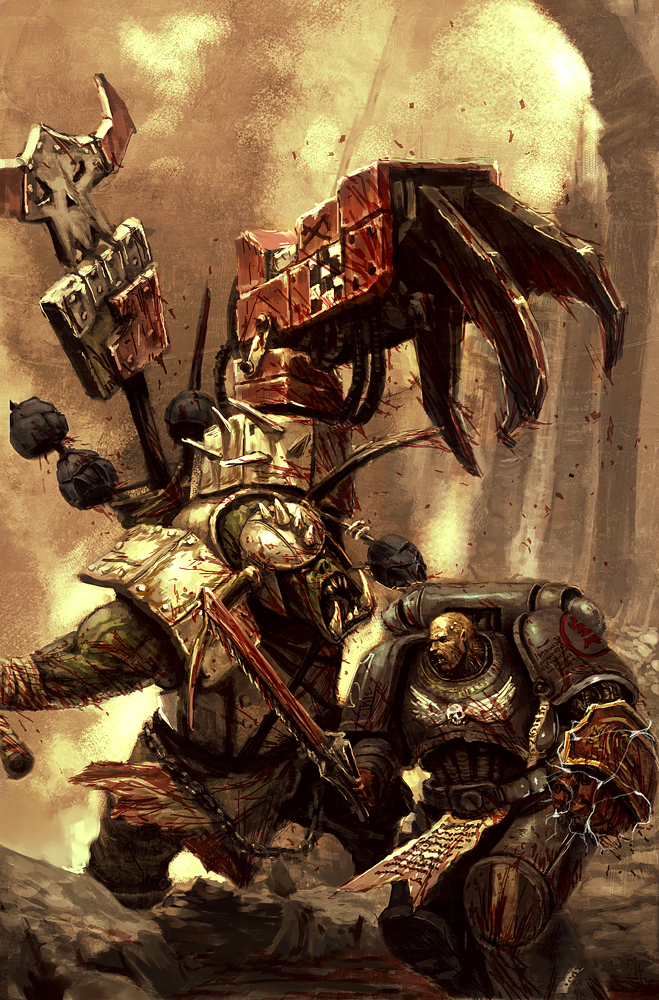 Crimson Fists   Warhammer 40K Wiki   Space Marines Chaos planets 659x1000