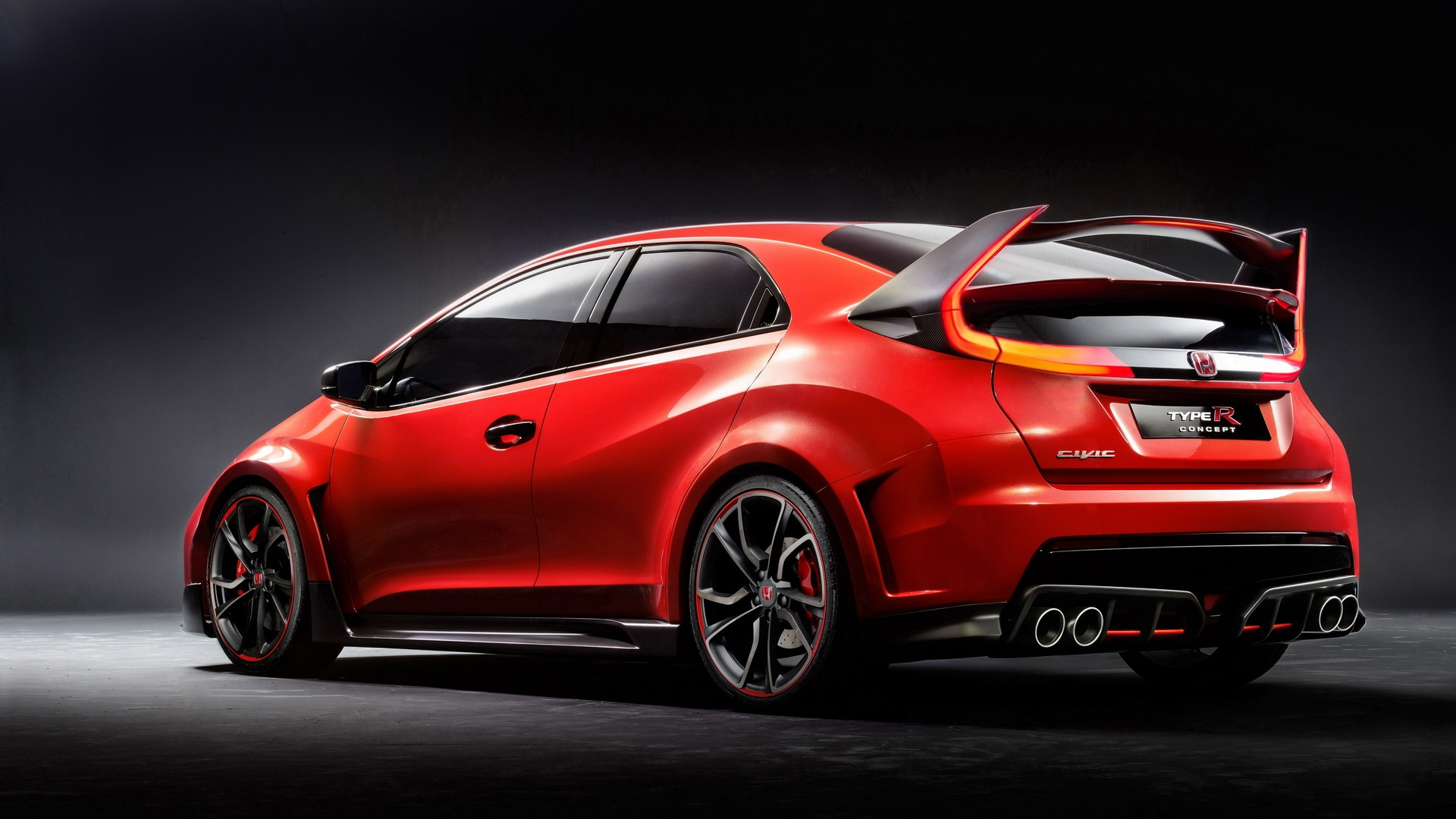 Honda Civic Type R Concept photos and wallpapers 1920x1080