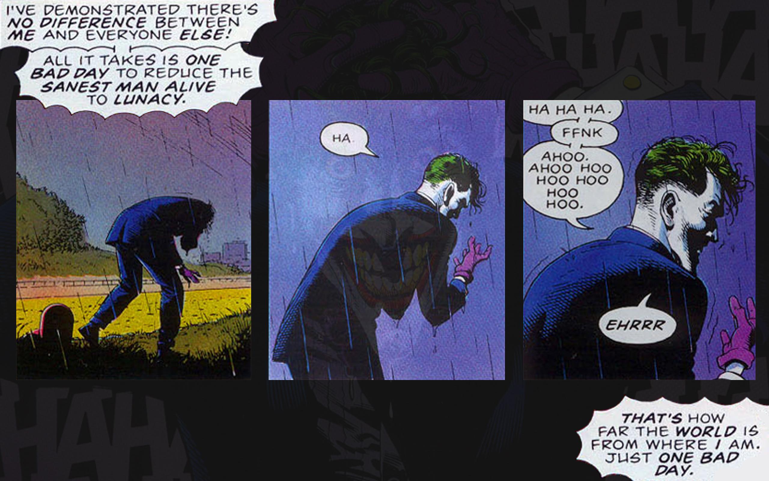 DC Comics Wallpaper 2560x1600 DC Comics The Joker Killing Joke 2560x1600