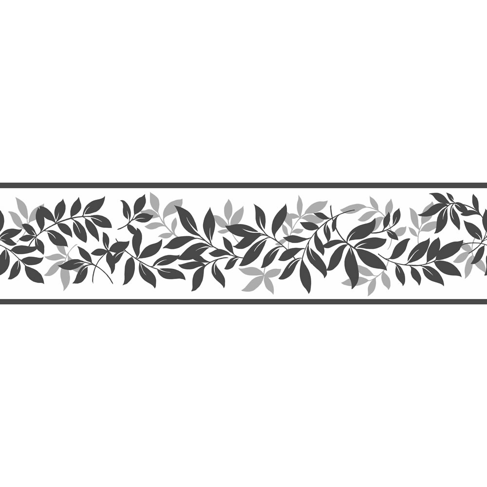 298ee49782e Leaf Trail Black And Silver Border at wilkocom 1000x1000