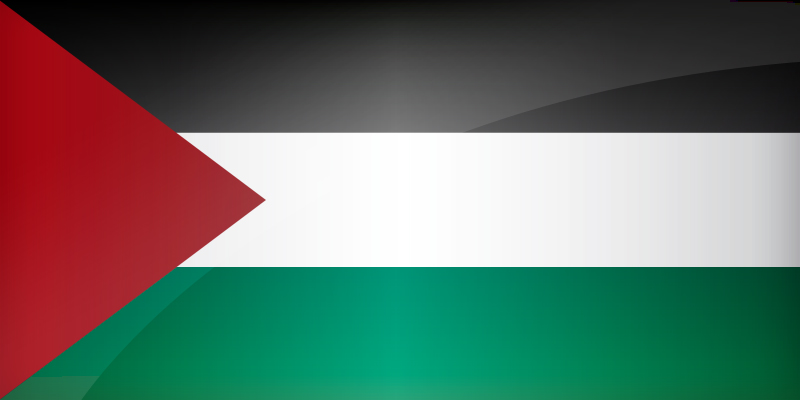 Flag Palestine Download the National Palestinian flag 800x400