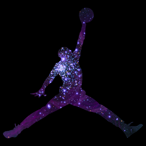 Michael Jordan Logo Purple Moving Jordan Symbol 500x500