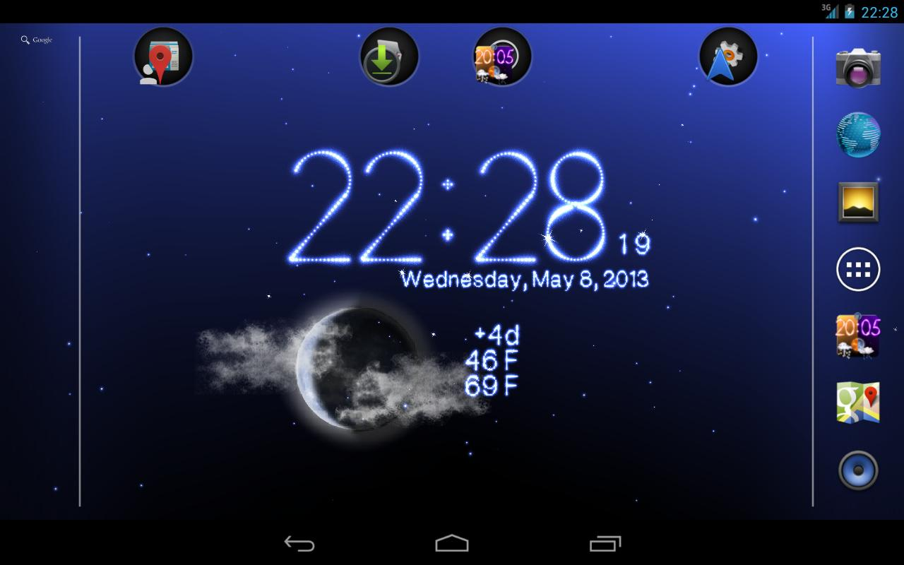 Free download this 3d weather live wallpaper have awesome weather