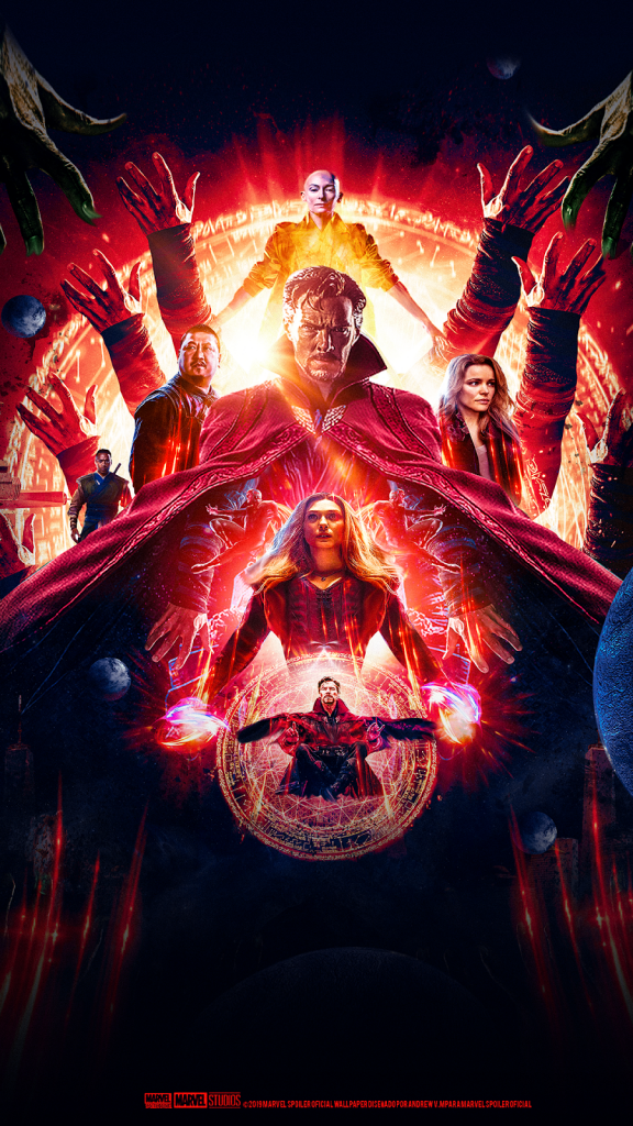 Marvel Dr Stephen Strange In The Multiverse Of Madness HD Wallpaper 576x1024