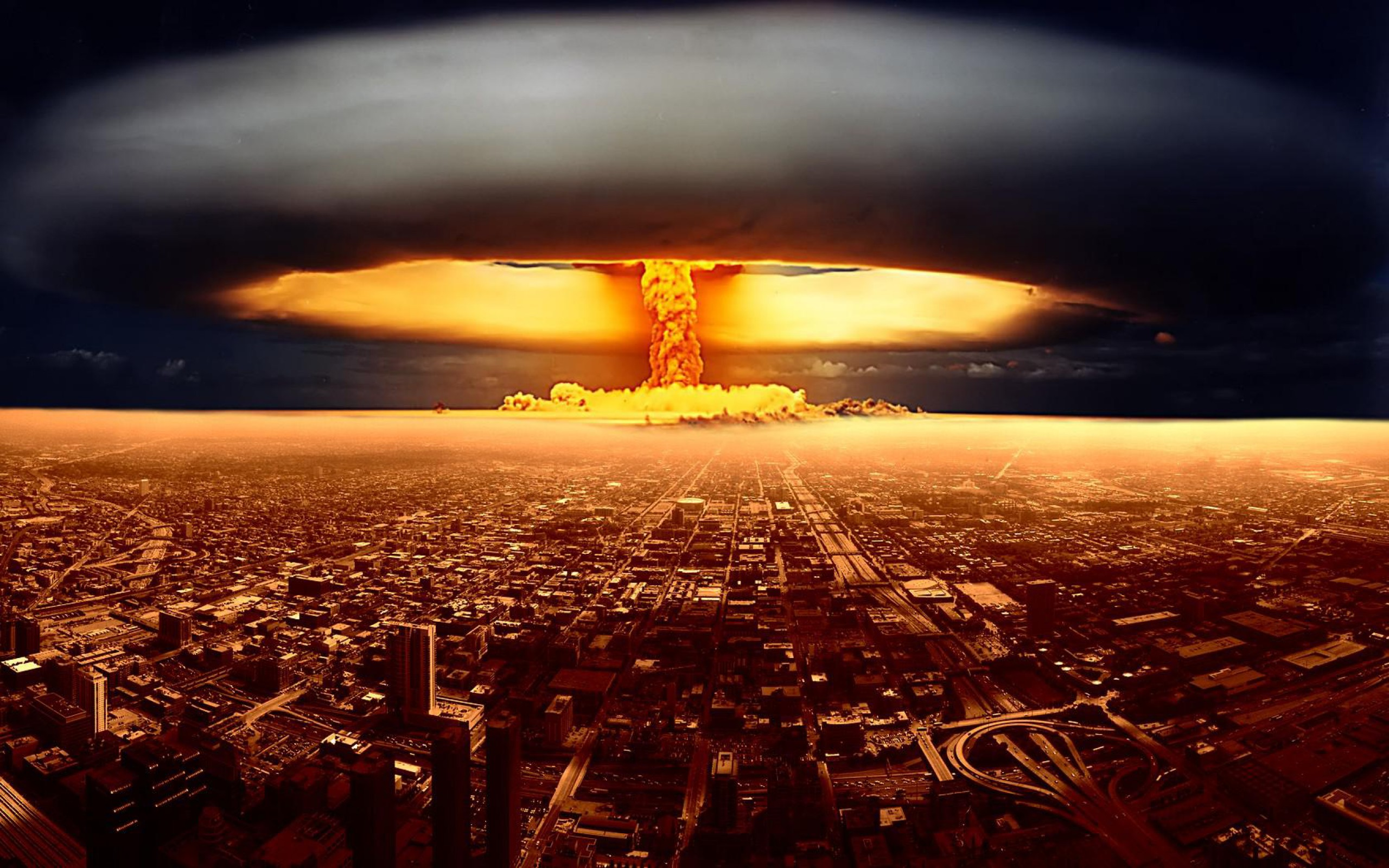 Nuke Explosion Wallpapers 2560x1600