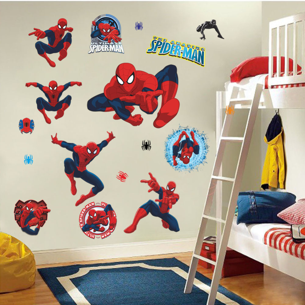 for Kids Rooms Wall decals Home Decor wallpaper Mural For Boys Room 1000x1000