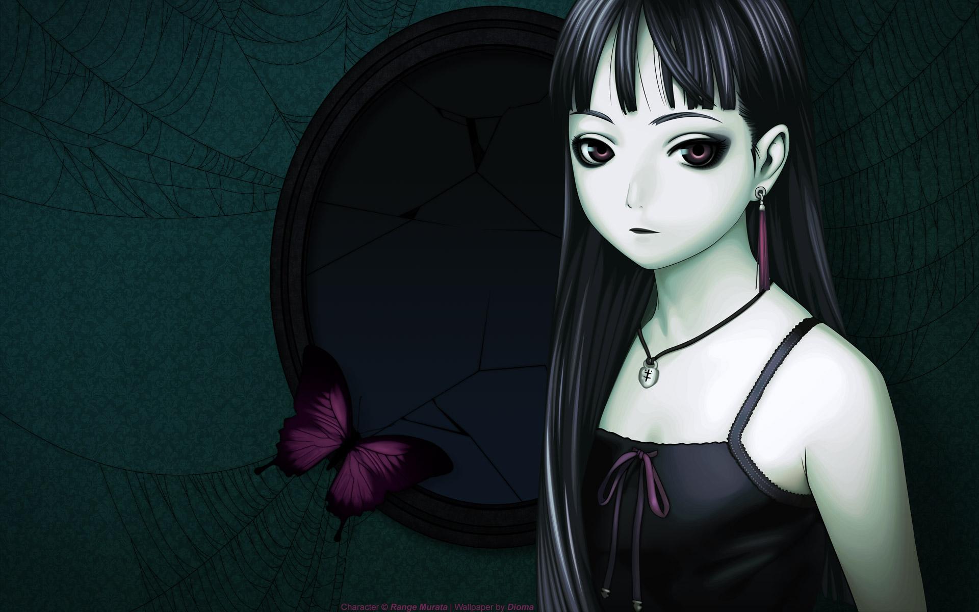 Anime Goth Girl Desktop Wallpaper Download Anime Goth Girl Wallpaper 1920x1200