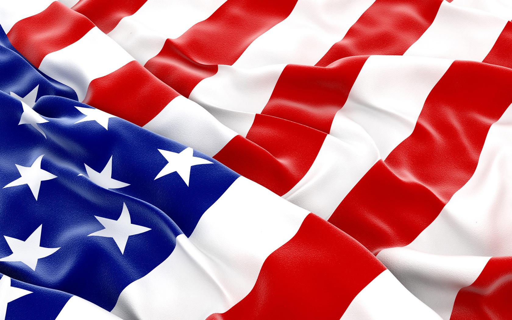 desktop wallpaper of united states flag day computer desktop 1680x1050