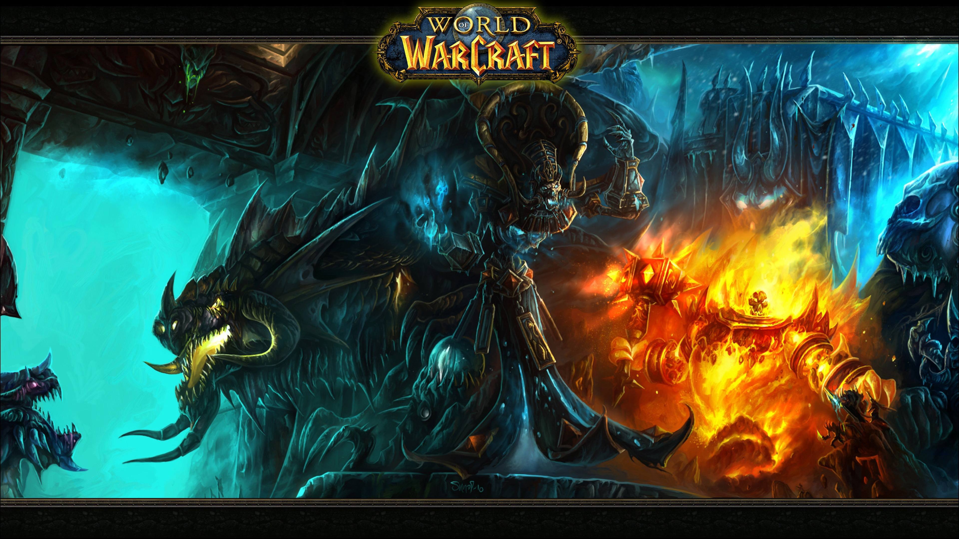 50 World Of Warcraft Wallpaper 4k On Wallpapersafari