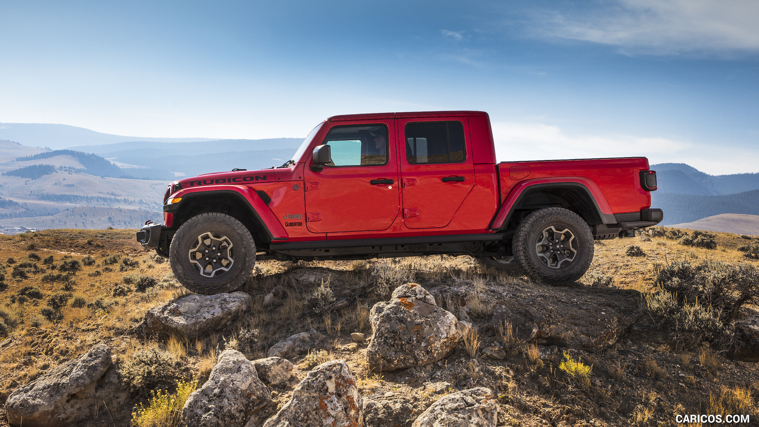 2020 Jeep Gladiator Rubicon   Side HD Wallpaper 119 2560x1440