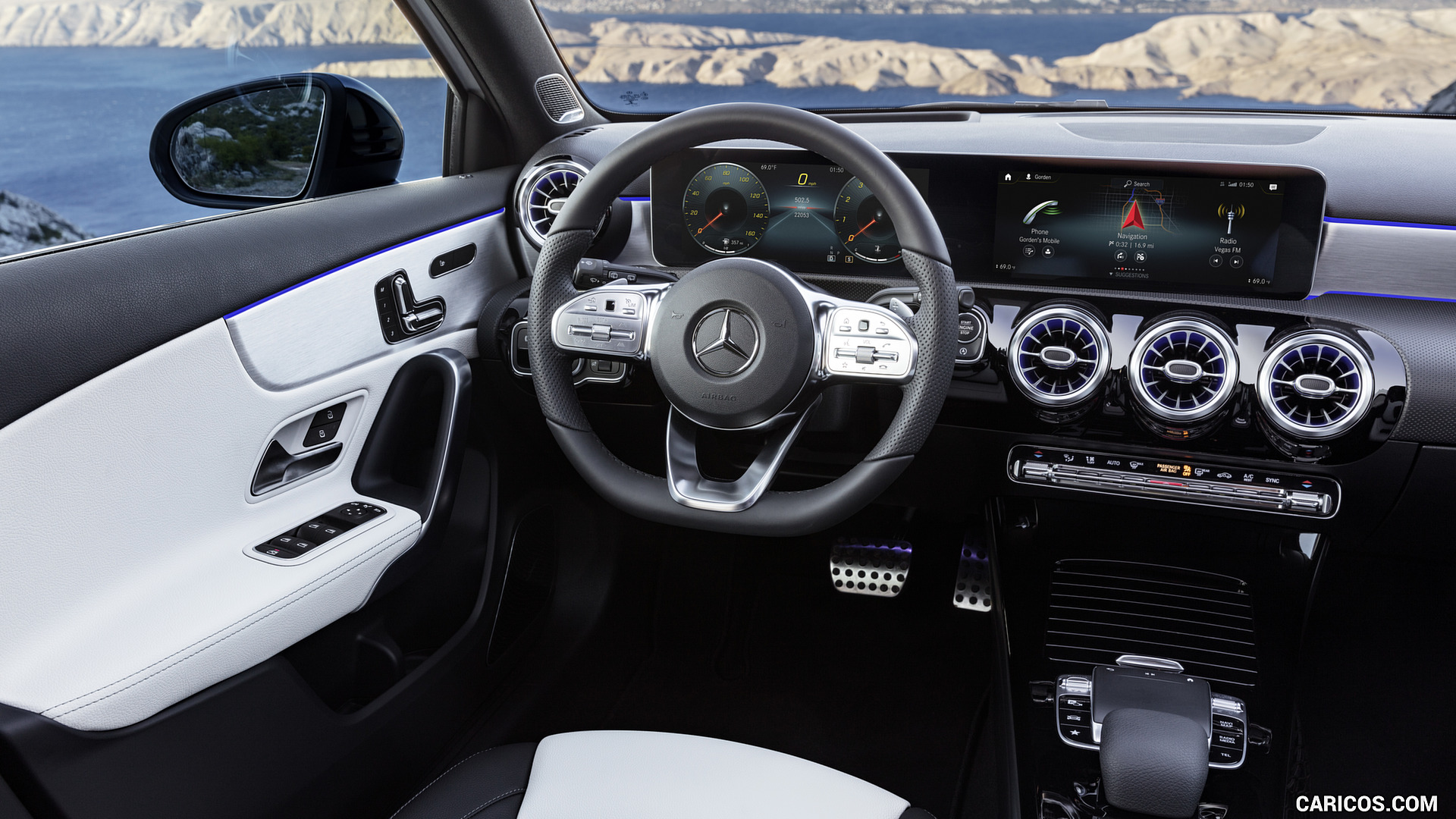 2019 Mercedes Benz A Class   AMG Line nevagreyblack Interior HD 1920x1080