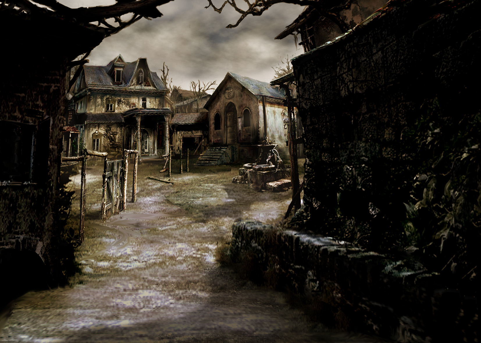 resident evil 4 REV D HD and background 33530693 1654x1180