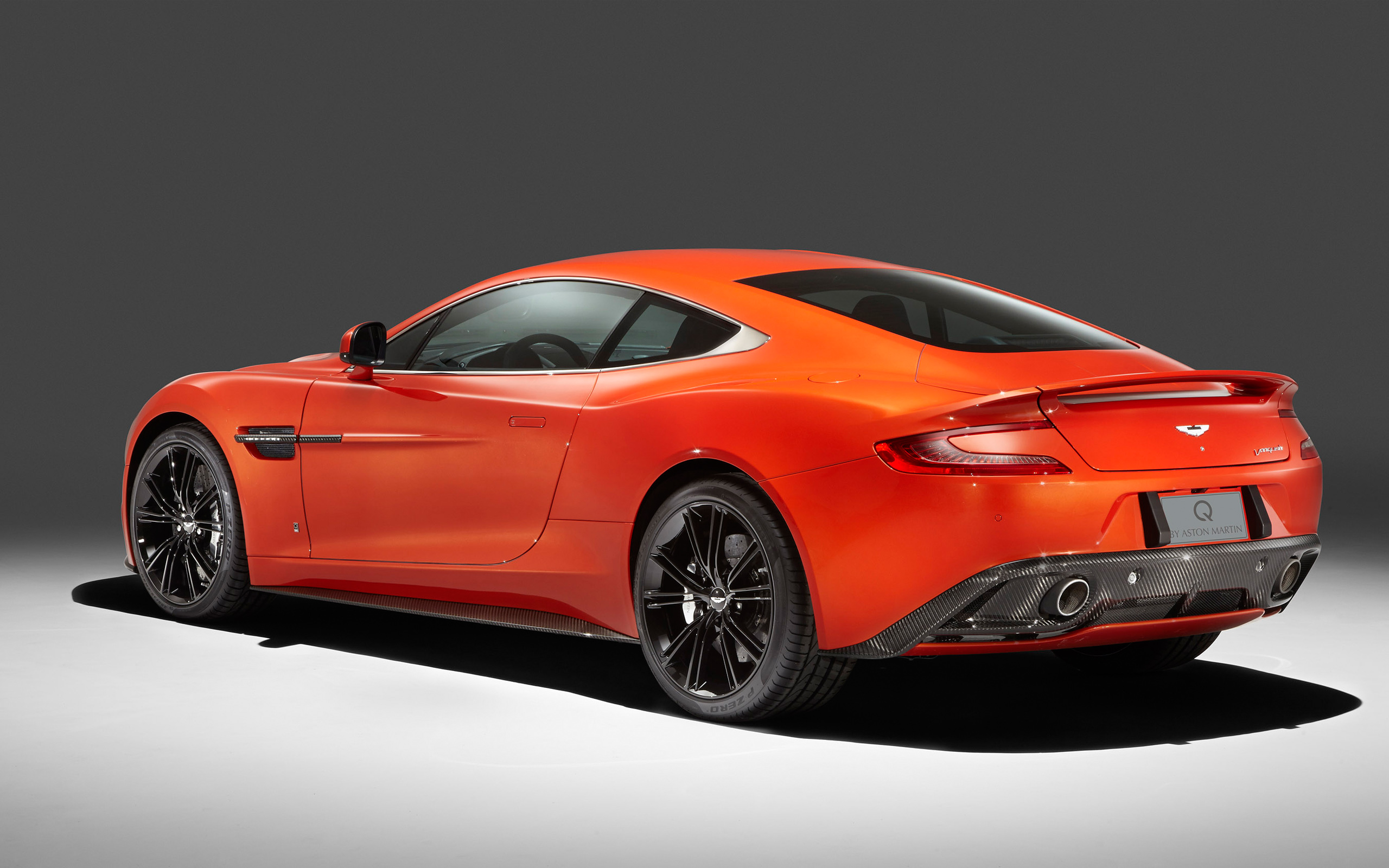 2014 Q by Aston Martin Vanquish Coupe 2 Wallpaper HD Car Wallpapers 2560x1600