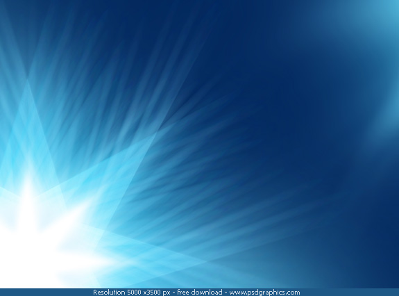 Blue Christmas background with a shiny stars on a blue gradients 575x426
