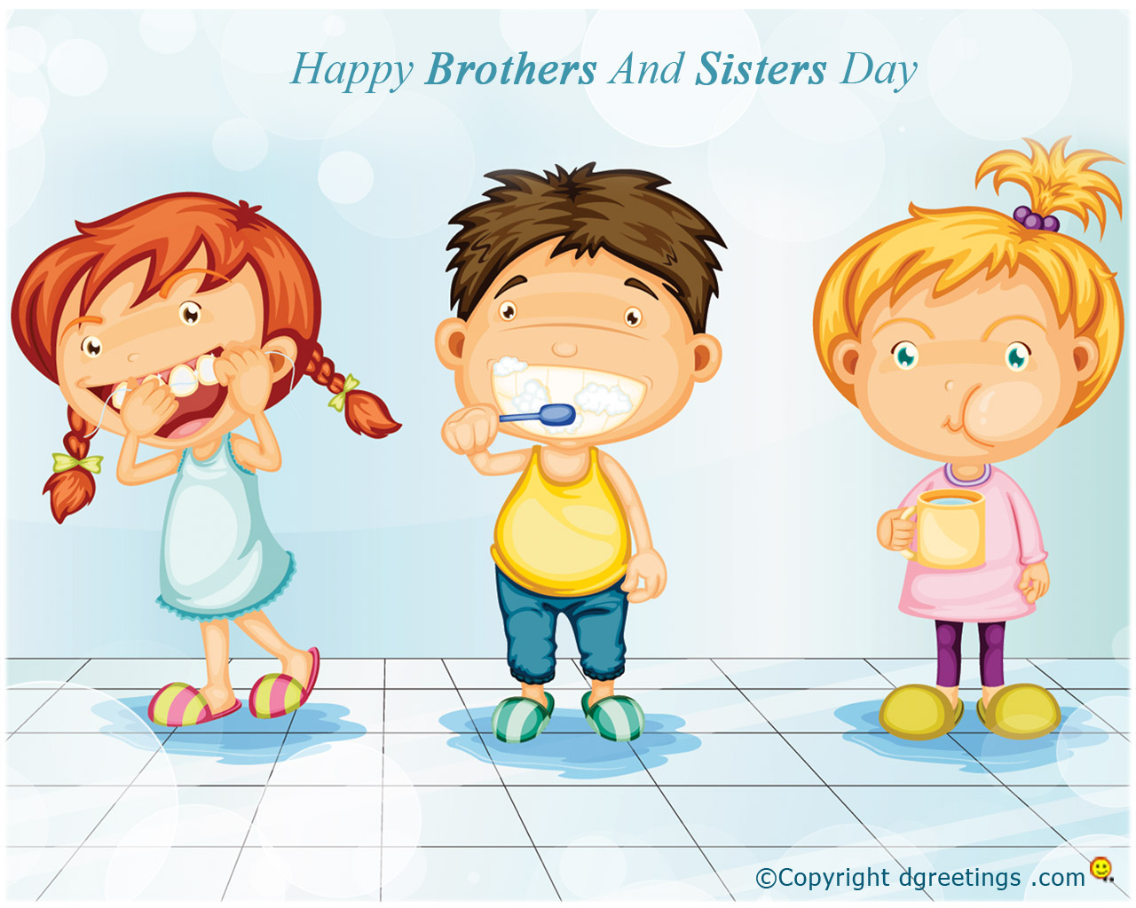Brothers and Sisters Day Wallpapers 1280x1024