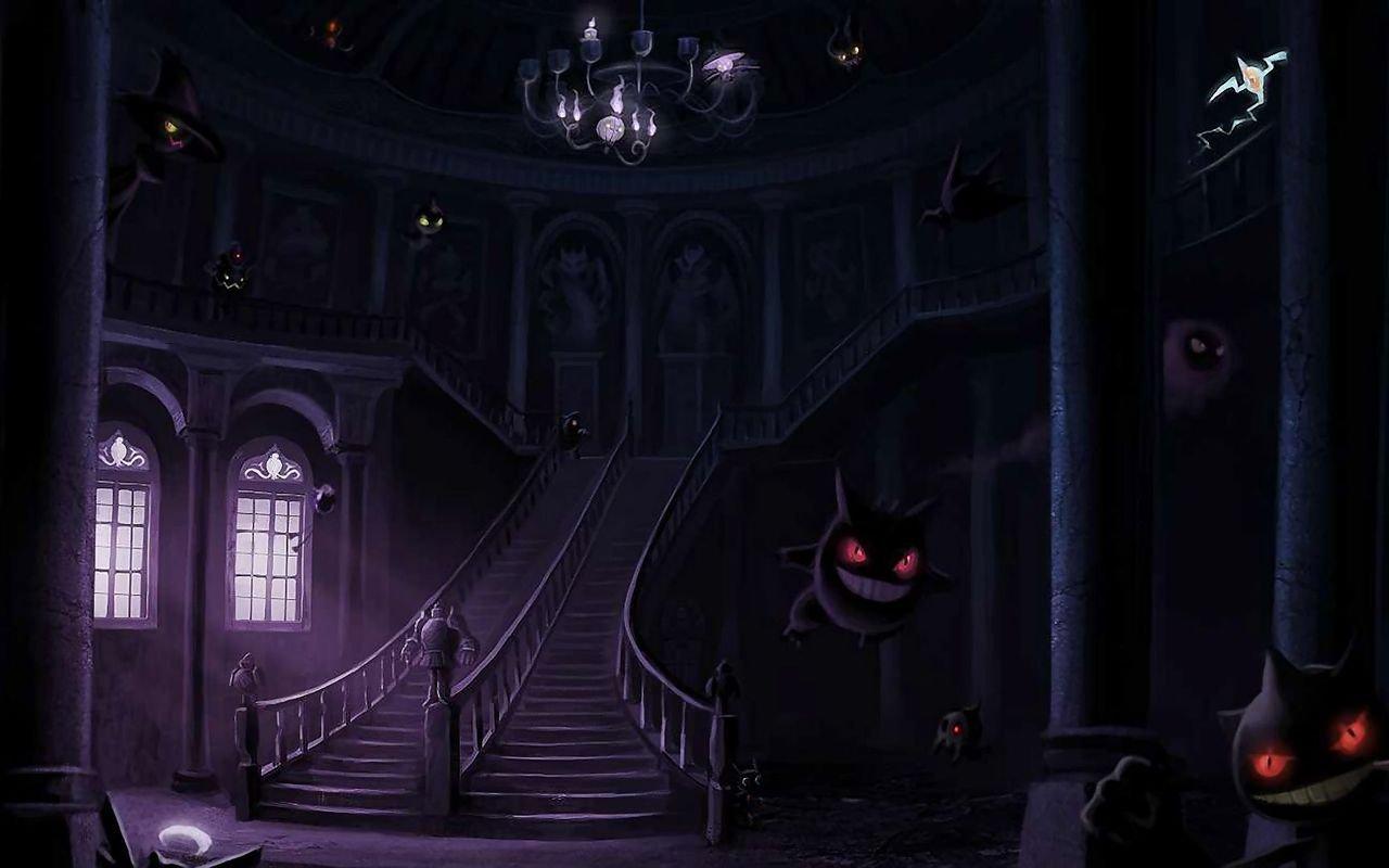 Ghost Pokemon wallpaper 14378 1280x800