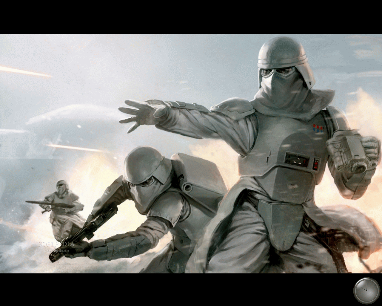 Wars Screensaver   This is a sample from what Star Wars Screensaver 1280x1024